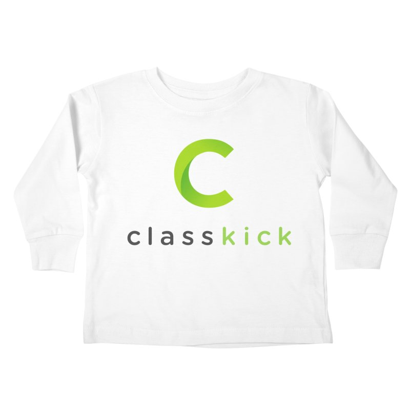 Classkick Logo Kids Toddler Longsleeve T-Shirt by Classkick's Artist Shop