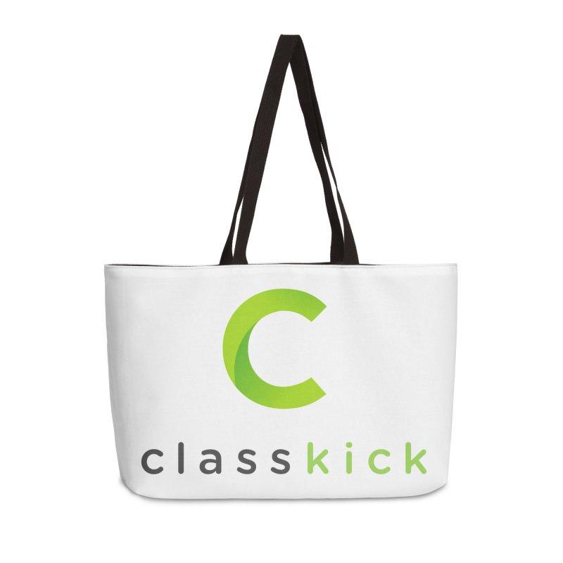 Classkick Logo Accessories Weekender Bag Bag by Classkick's Artist Shop