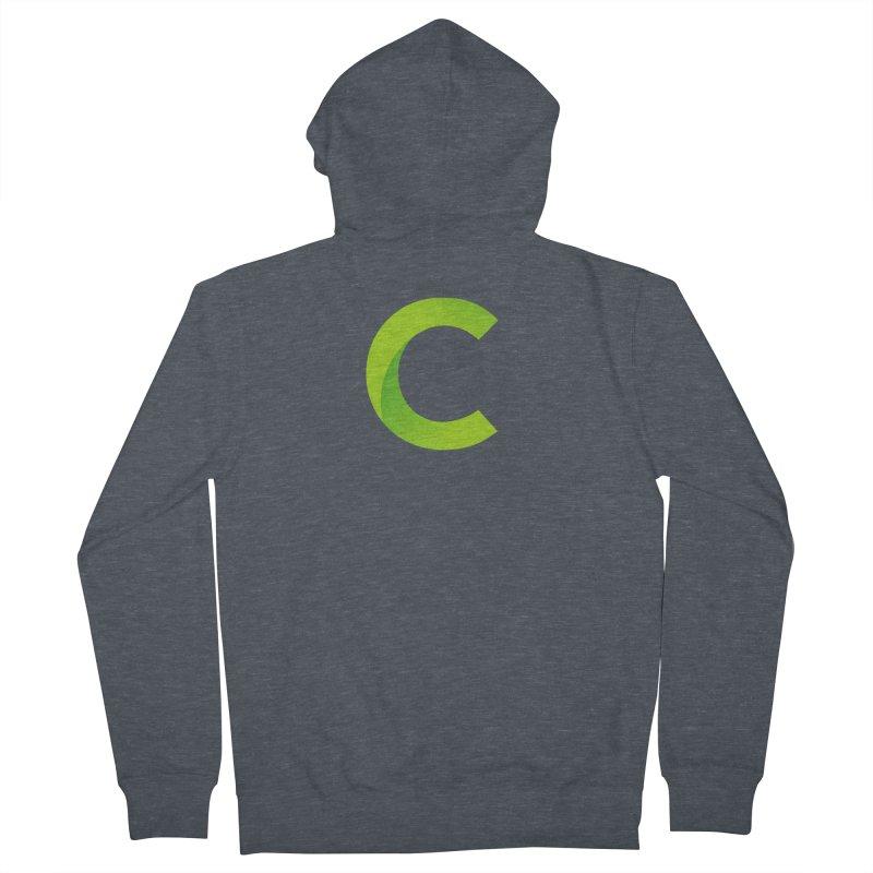 Classkick C Men's Zip-Up Hoody by Classkick's Artist Shop