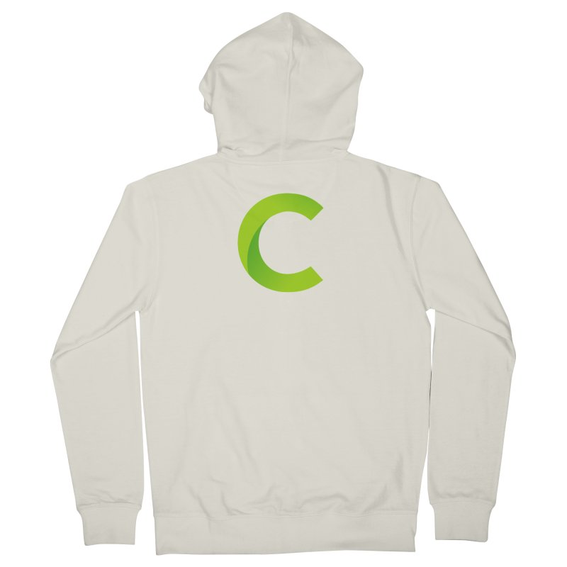Classkick C Men's French Terry Zip-Up Hoody by Classkick's Artist Shop