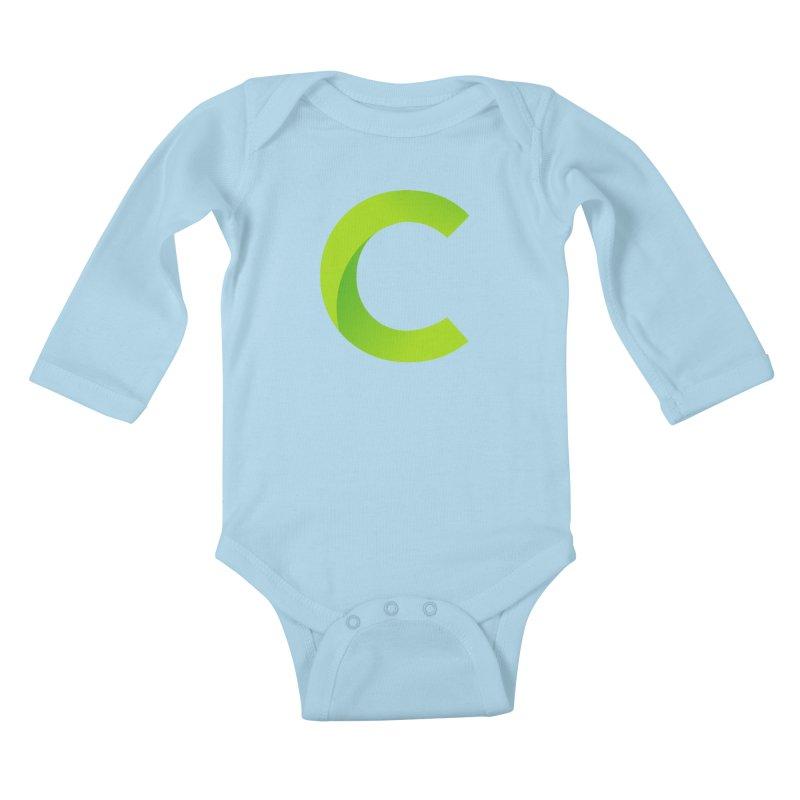 Classkick C Kids Baby Longsleeve Bodysuit by Classkick's Artist Shop