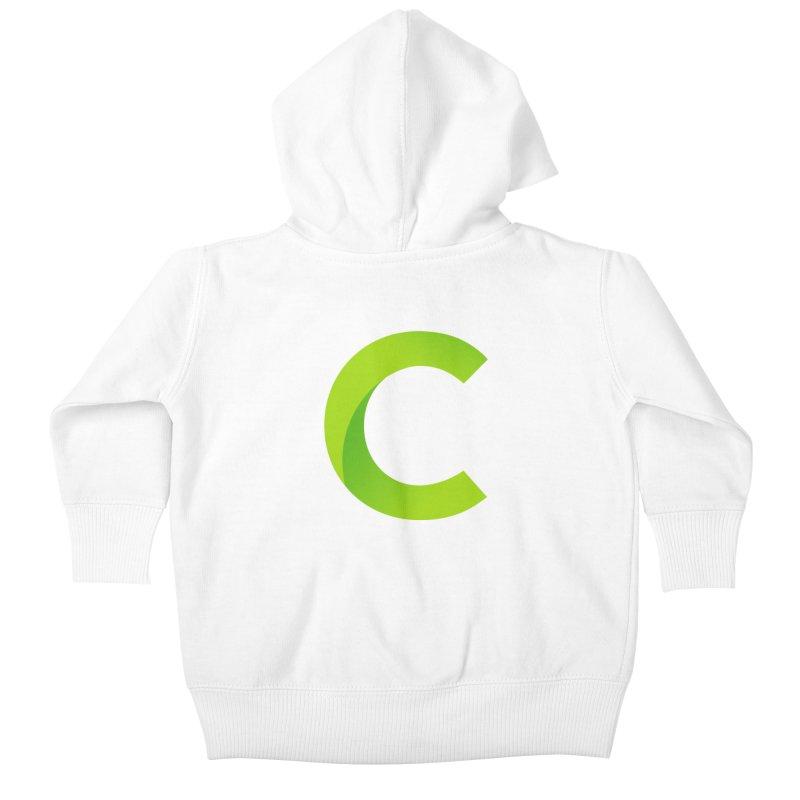 Classkick C Kids Baby Zip-Up Hoody by Classkick's Artist Shop