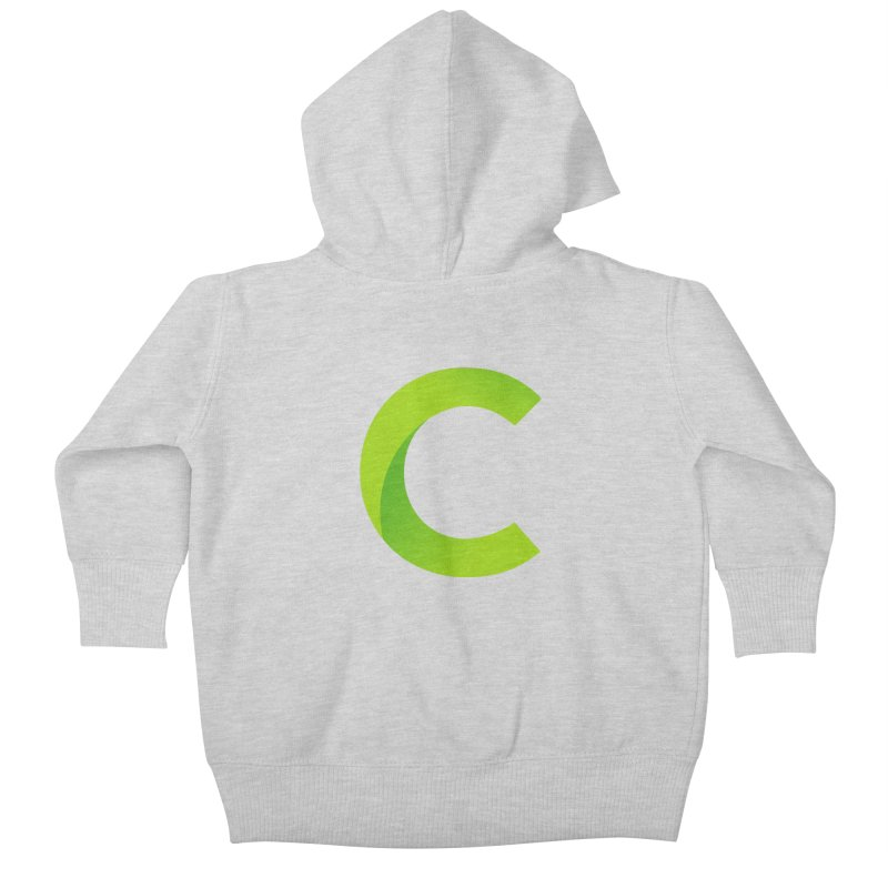 Classkick C Kids Baby Zip-Up Hoody by Classkick's Artist Shop
