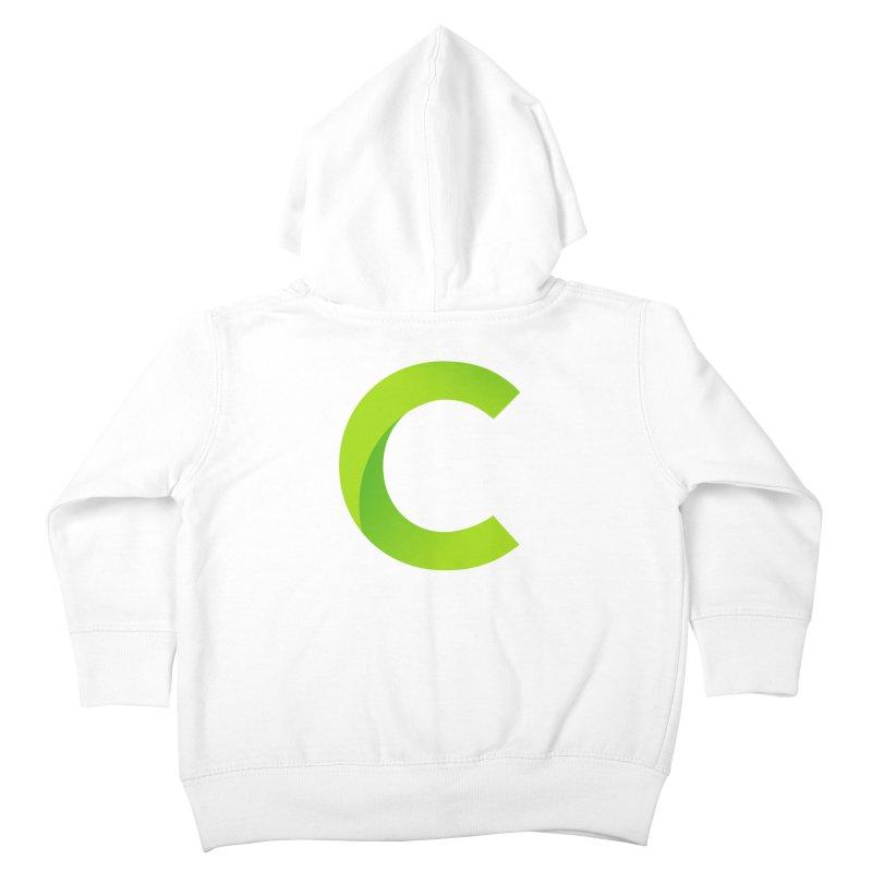 Classkick C Kids Toddler Zip-Up Hoody by Classkick's Artist Shop