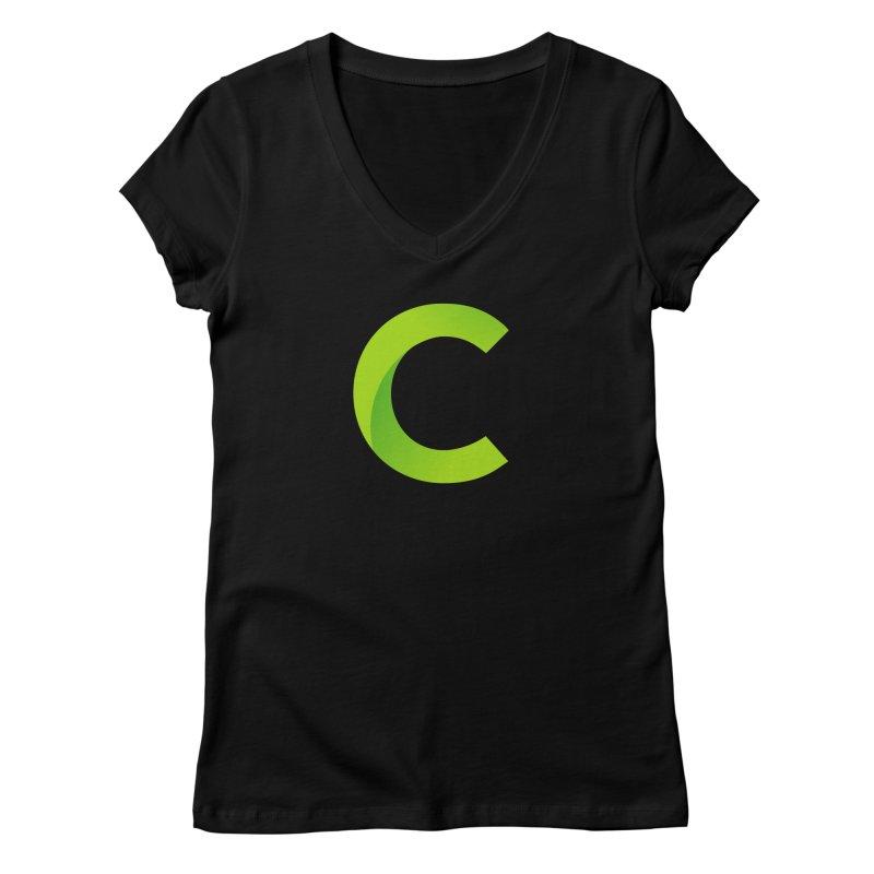 Classkick C Women's Regular V-Neck by Classkick's Artist Shop