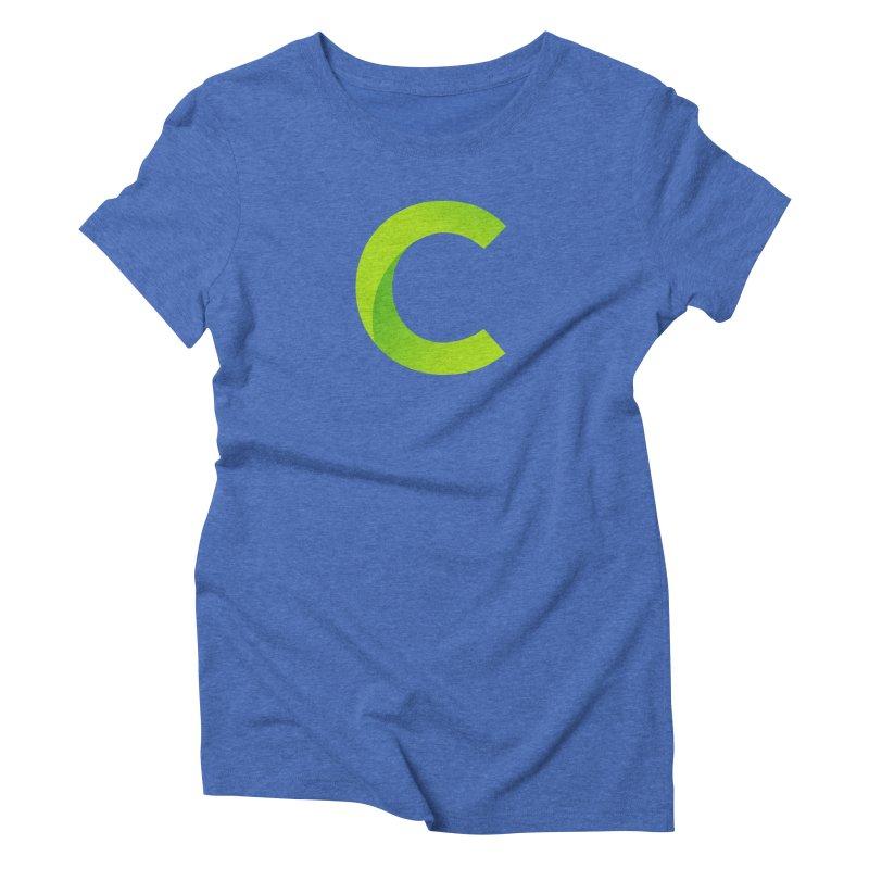 Classkick C Women's Triblend T-Shirt by Classkick's Artist Shop