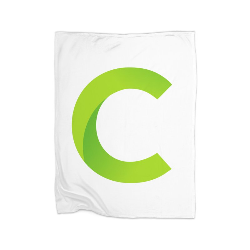 Classkick C Home Fleece Blanket Blanket by Classkick's Artist Shop