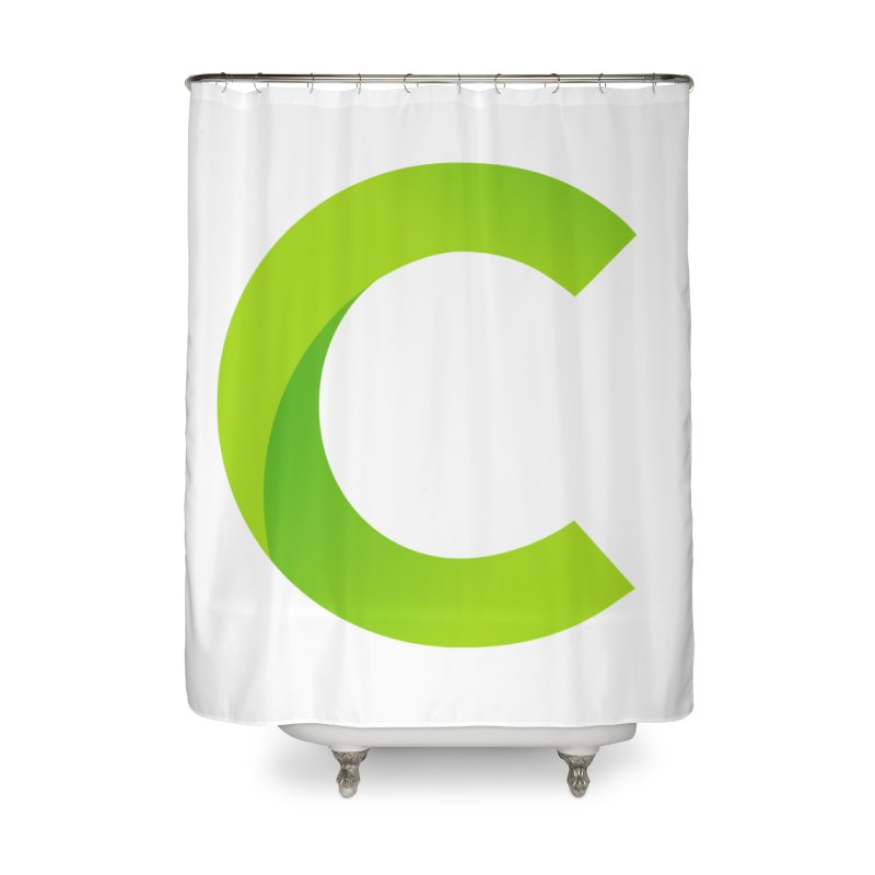 Classkick C Home Shower Curtain by Classkick's Artist Shop