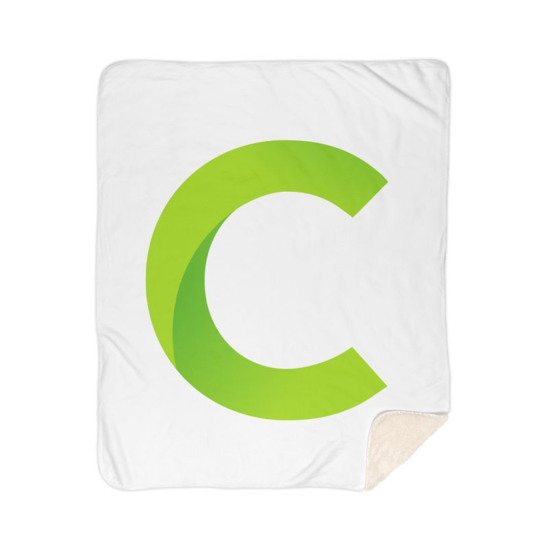 Classkick C Home Sherpa Blanket Blanket by Classkick's Artist Shop
