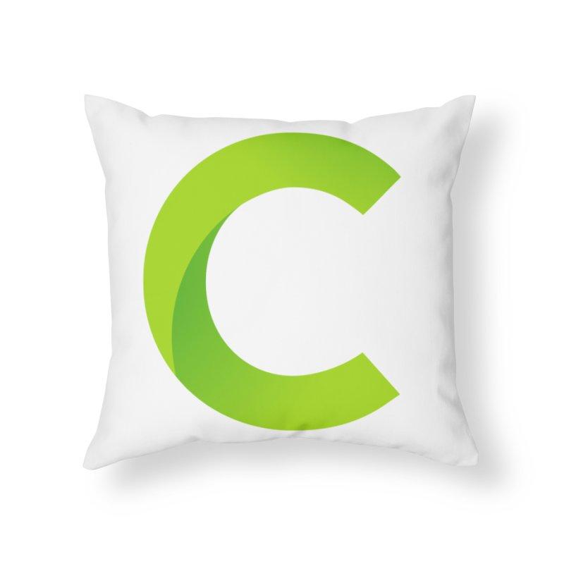 Classkick C Home Throw Pillow by Classkick's Artist Shop