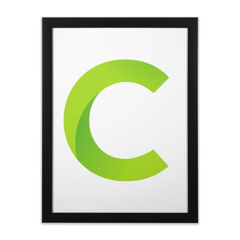 Classkick C Home Framed Fine Art Print by Classkick's Artist Shop