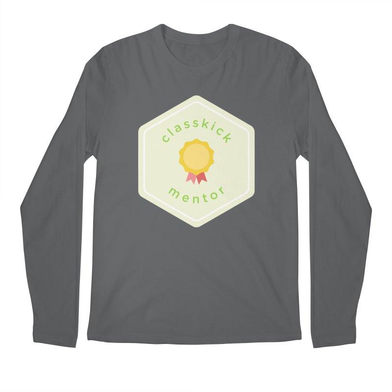 Classkick Mentor Men's Longsleeve T-Shirt by Classkick's Artist Shop