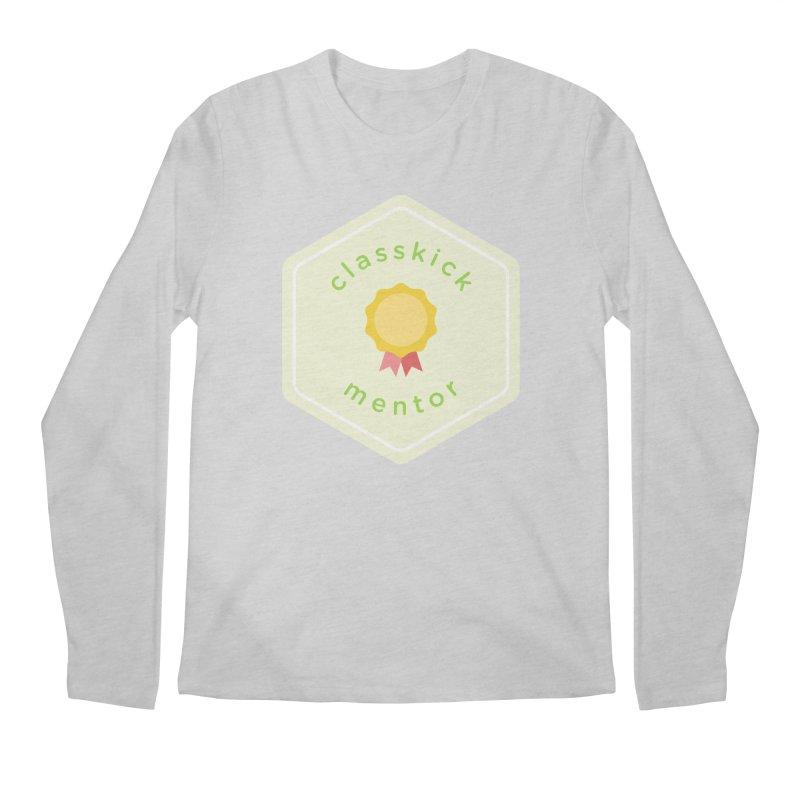 Classkick Mentor Men's Regular Longsleeve T-Shirt by Classkick's Artist Shop