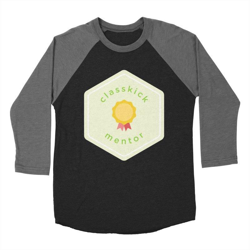 Classkick Mentor Men's Baseball Triblend Longsleeve T-Shirt by Classkick's Artist Shop