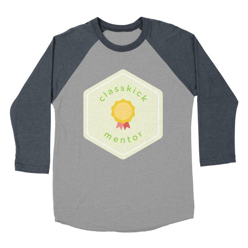 Classkick Mentor Men's Baseball Triblend T-Shirt by Classkick's Artist Shop