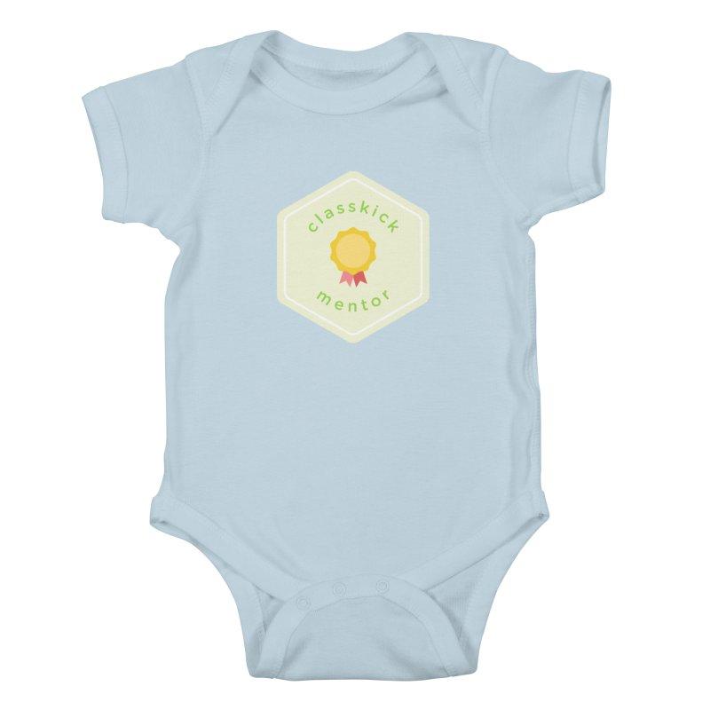 Classkick Mentor Kids Baby Bodysuit by Classkick's Artist Shop