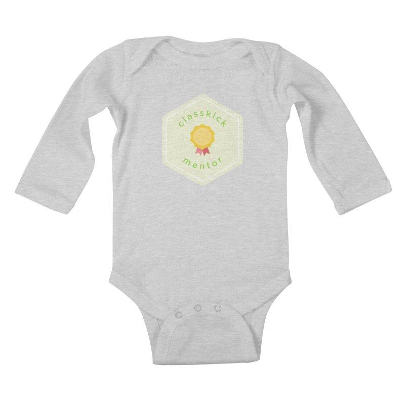 Classkick Mentor Kids Baby Longsleeve Bodysuit by Classkick's Artist Shop