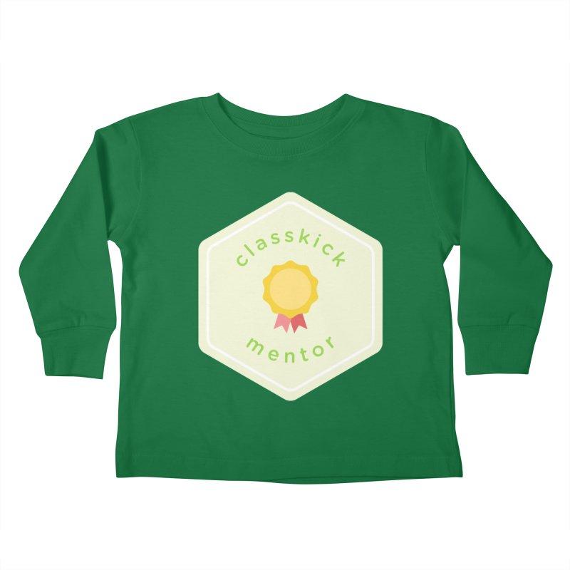 Classkick Mentor Kids Toddler Longsleeve T-Shirt by Classkick's Artist Shop