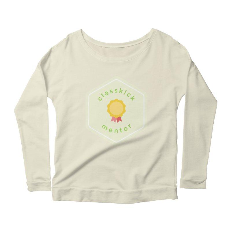 Classkick Mentor Women's Scoop Neck Longsleeve T-Shirt by Classkick's Artist Shop