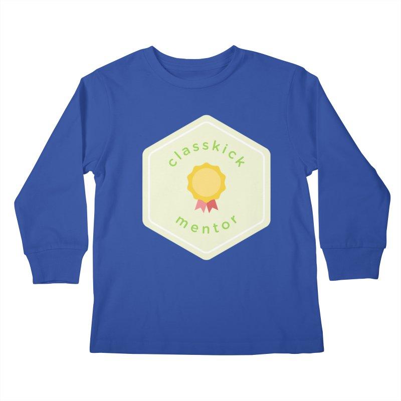Classkick Mentor Kids Longsleeve T-Shirt by Classkick's Artist Shop
