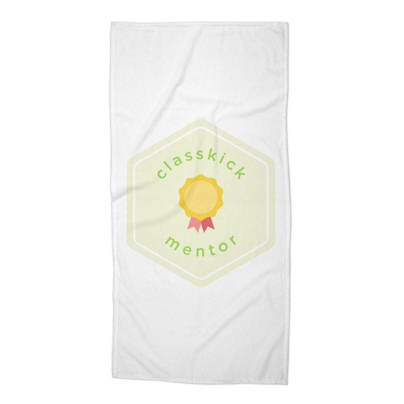 Classkick Mentor Accessories Beach Towel by Classkick's Artist Shop