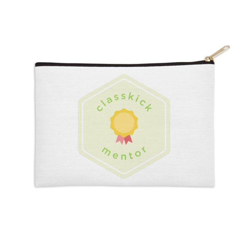 Classkick Mentor Accessories Zip Pouch by Classkick's Artist Shop