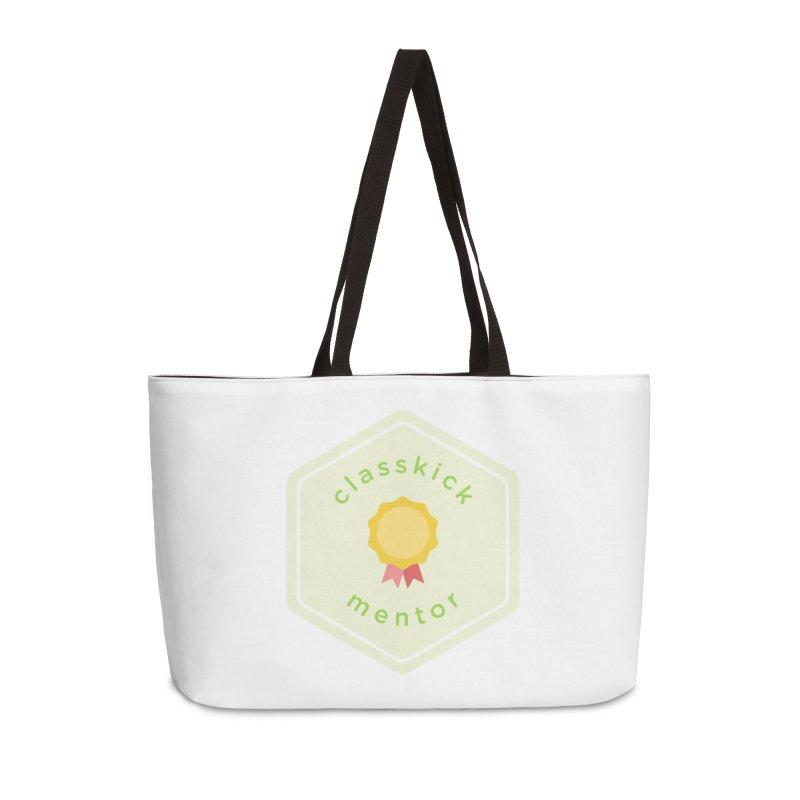 Classkick Mentor Accessories Weekender Bag Bag by Classkick's Artist Shop
