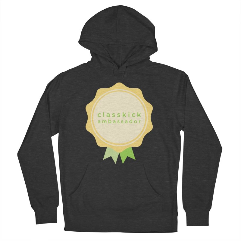 Classkick Ambassador Men's French Terry Pullover Hoody by Classkick's Artist Shop