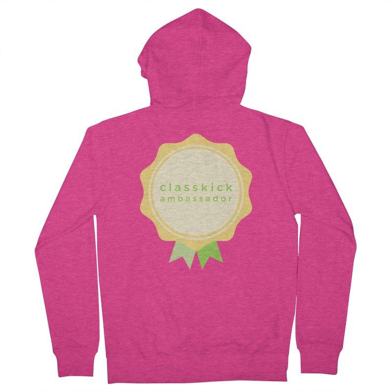 Classkick Ambassador Women's Zip-Up Hoody by Classkick's Artist Shop