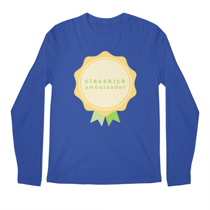 Classkick Ambassador Men's Regular Longsleeve T-Shirt by Classkick's Artist Shop