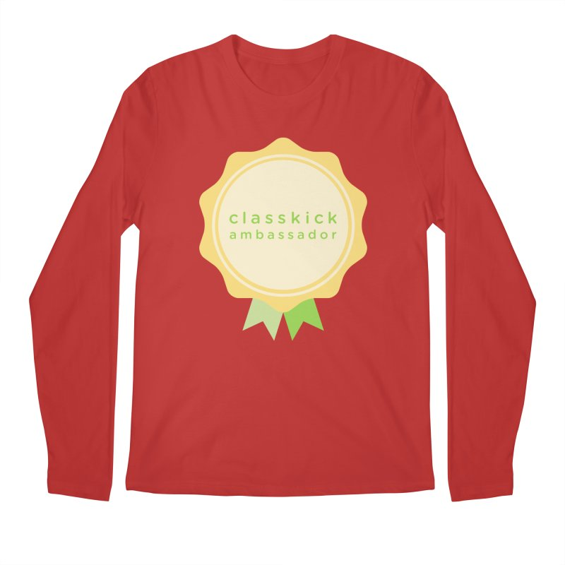 Classkick Ambassador Men's Regular Longsleeve T-Shirt by Classkick's Artist Shop