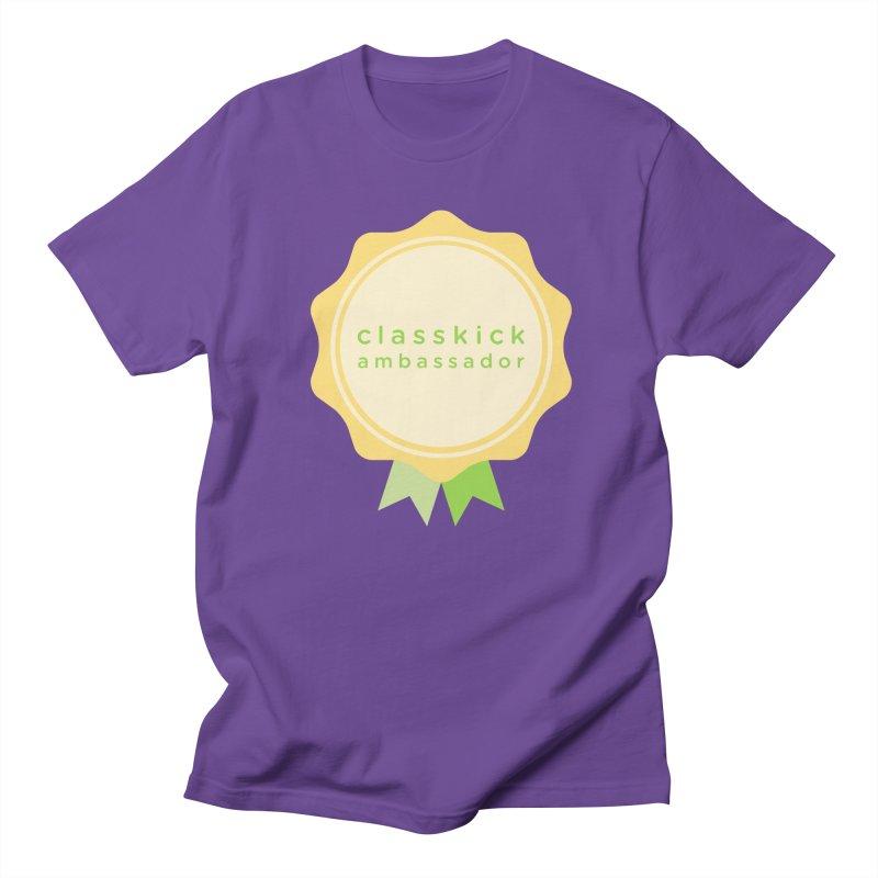 Classkick Ambassador Men's Regular T-Shirt by Classkick's Artist Shop