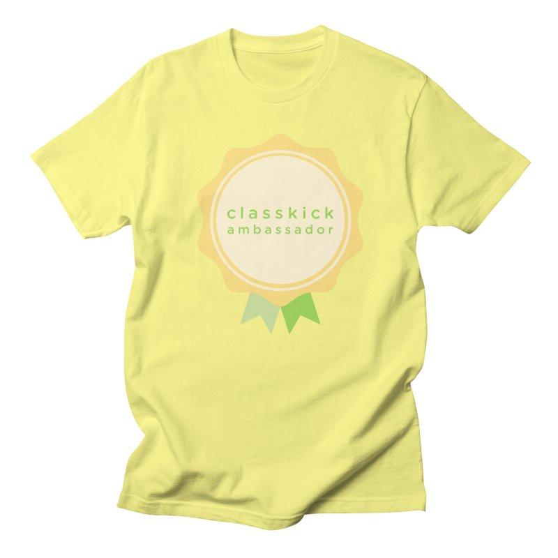 Classkick Ambassador Men's T-shirt by Classkick's Artist Shop