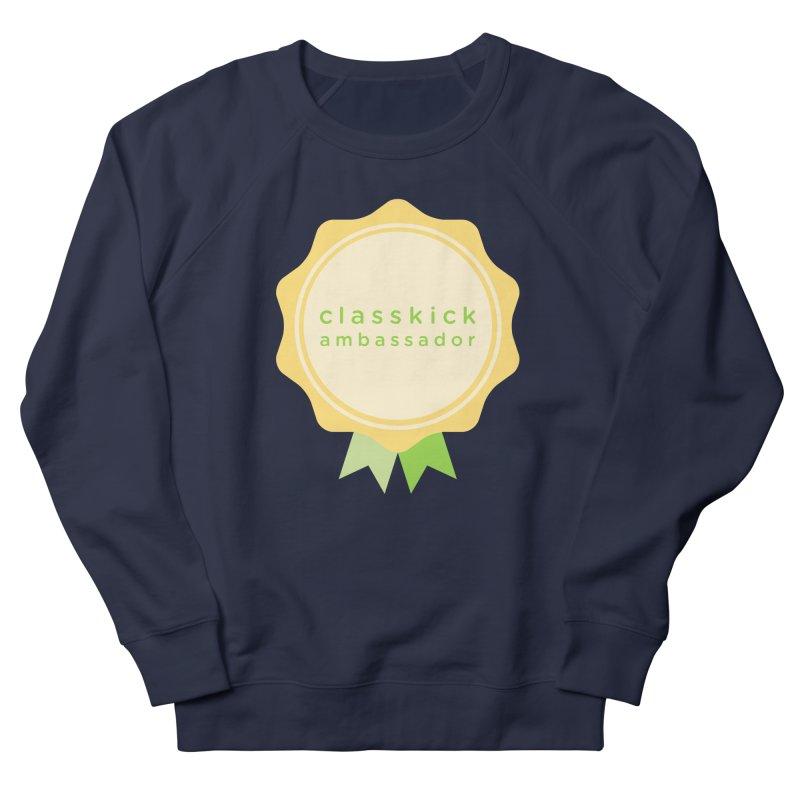 Classkick Ambassador Men's French Terry Sweatshirt by Classkick's Artist Shop