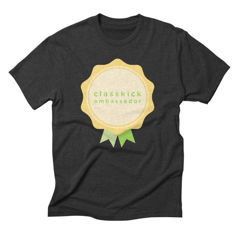 Classkick Ambassador Men's Triblend T-Shirt by Classkick's Artist Shop