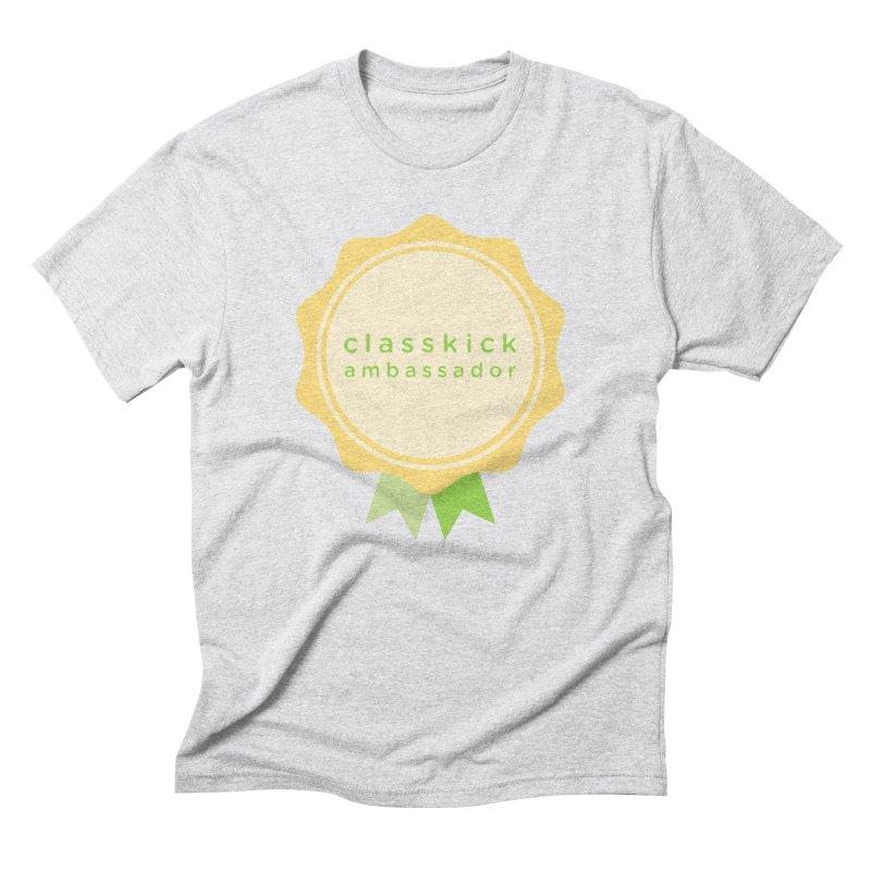 Classkick Ambassador Men's Triblend T-shirt by Classkick's Artist Shop