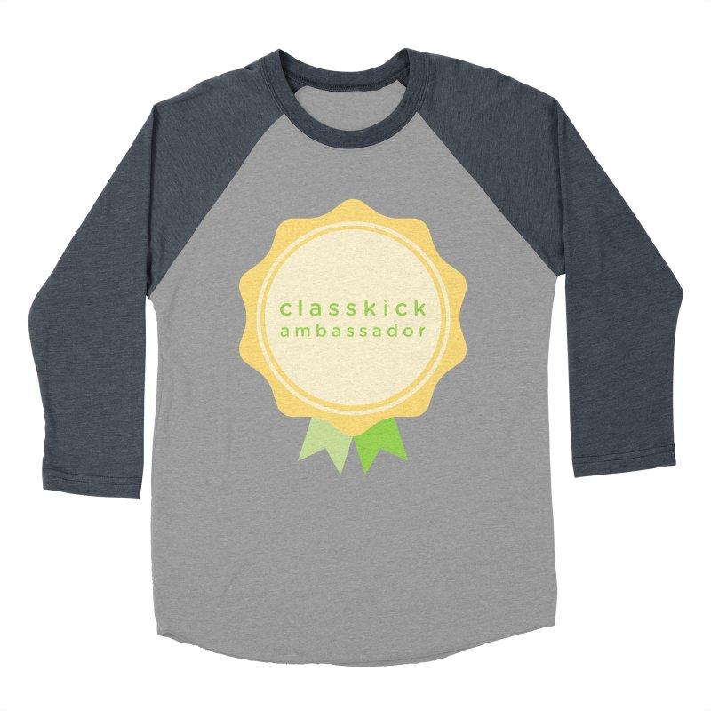 Classkick Ambassador Women's Baseball Triblend Longsleeve T-Shirt by Classkick's Artist Shop