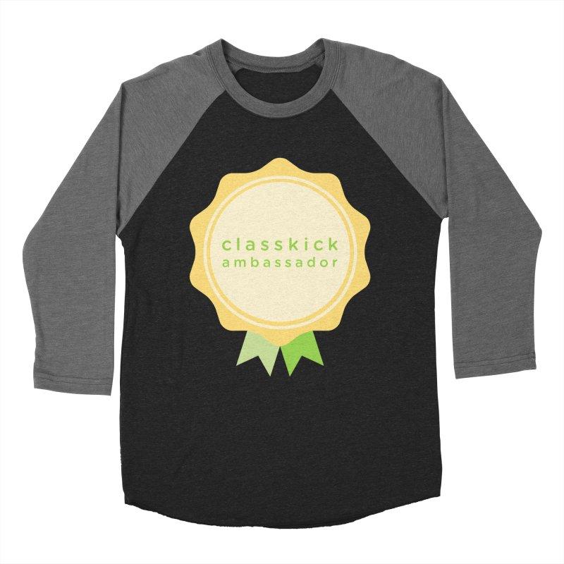 Classkick Ambassador Men's Baseball Triblend Longsleeve T-Shirt by Classkick's Artist Shop