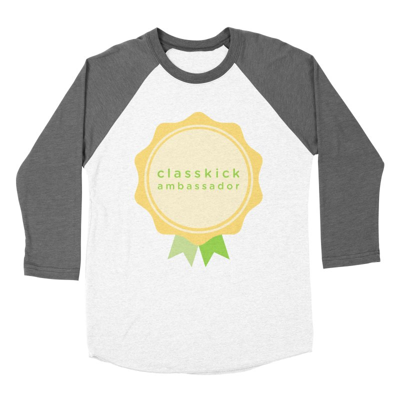 Classkick Ambassador Men's Baseball Triblend T-Shirt by Classkick's Artist Shop