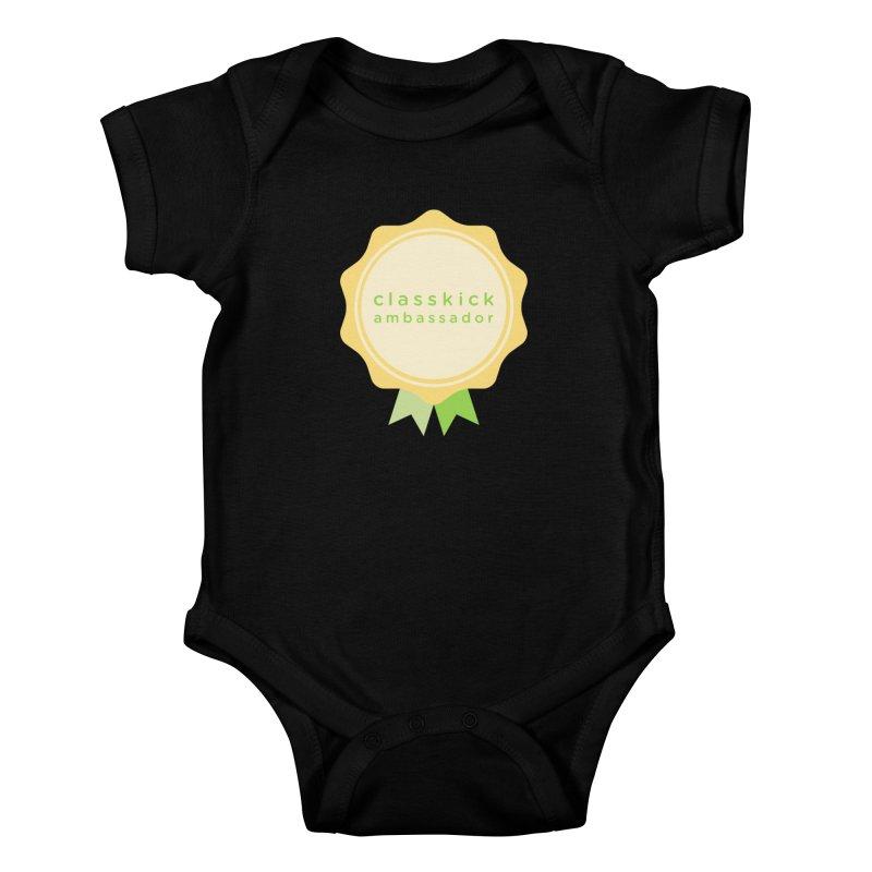 Classkick Ambassador Kids Baby Bodysuit by Classkick's Artist Shop