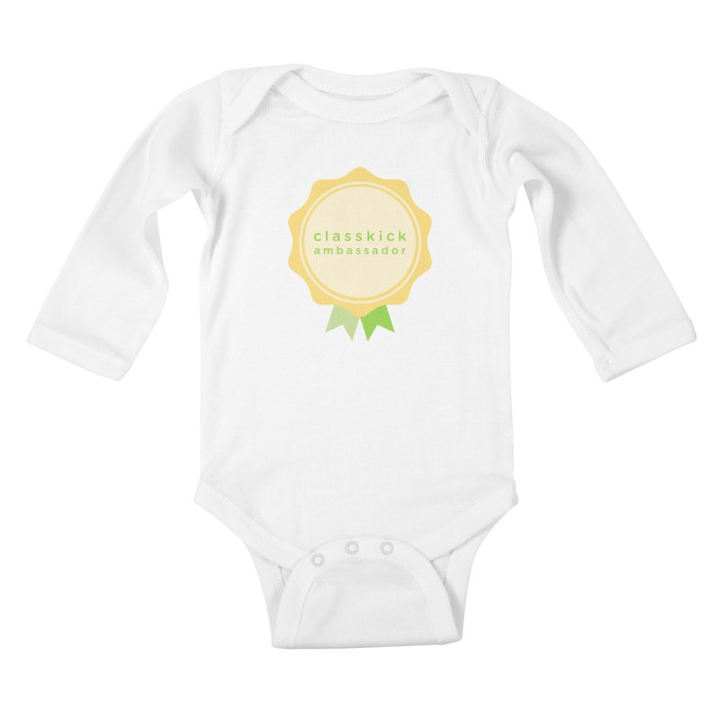Classkick Ambassador Kids Baby Longsleeve Bodysuit by Classkick's Artist Shop