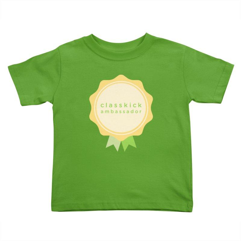 Classkick Ambassador Kids Toddler T-Shirt by Classkick's Artist Shop