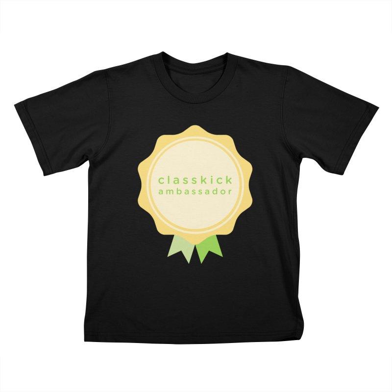 Classkick Ambassador Kids T-Shirt by Classkick's Artist Shop