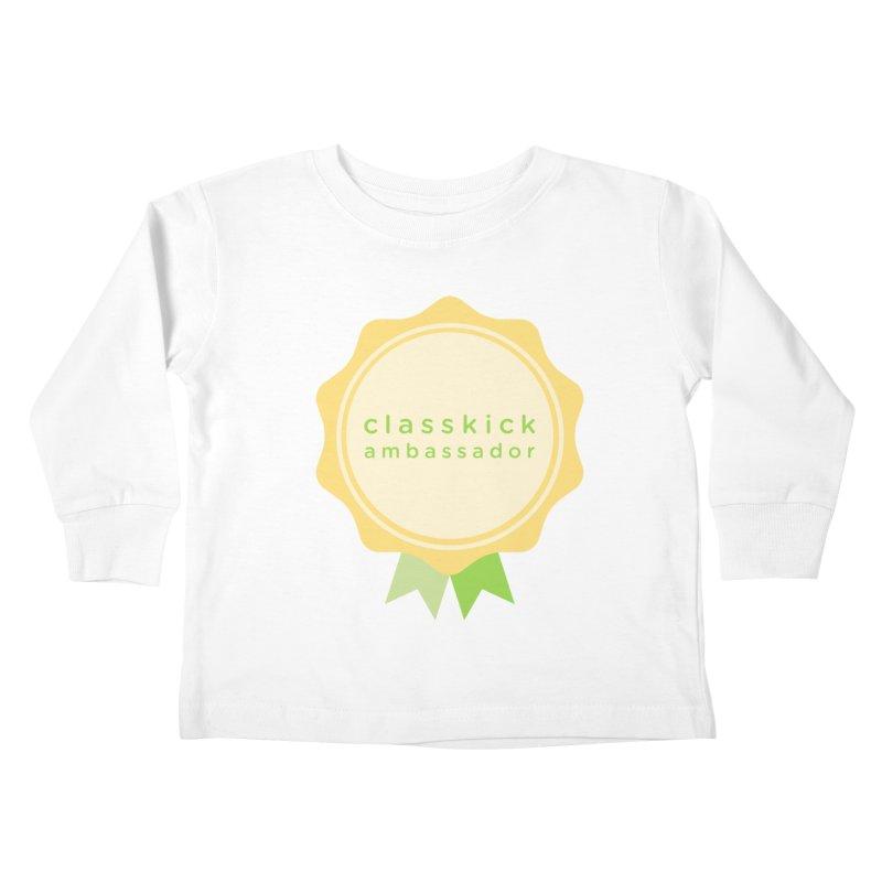 Classkick Ambassador Kids Toddler Longsleeve T-Shirt by Classkick's Artist Shop
