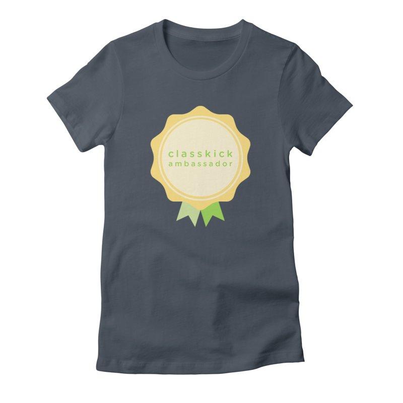 Classkick Ambassador Women's T-Shirt by Classkick's Artist Shop