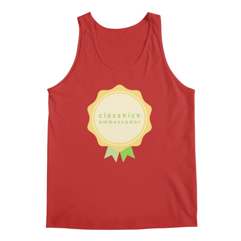 Classkick Ambassador Men's Regular Tank by Classkick's Artist Shop