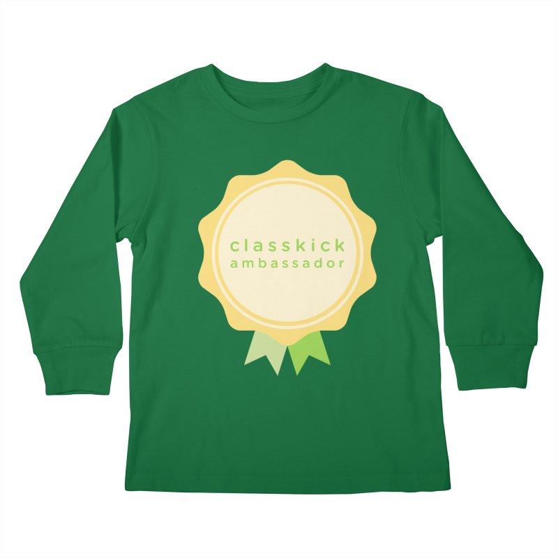 Classkick Ambassador Kids Longsleeve T-Shirt by Classkick's Artist Shop