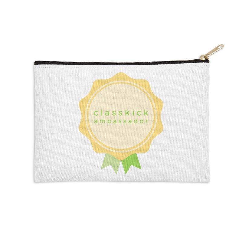 Classkick Ambassador Accessories Zip Pouch by Classkick's Artist Shop