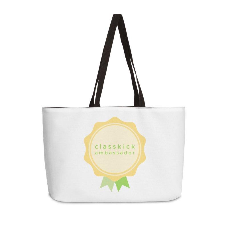 Classkick Ambassador Accessories Weekender Bag Bag by Classkick's Artist Shop