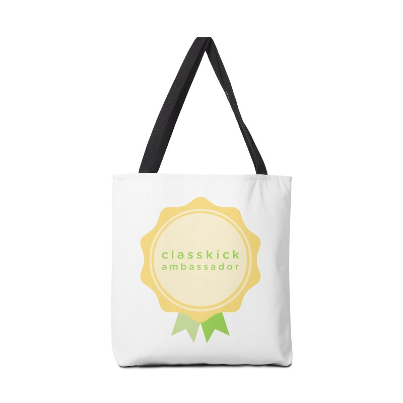 Classkick Ambassador Accessories Bag by Classkick's Artist Shop